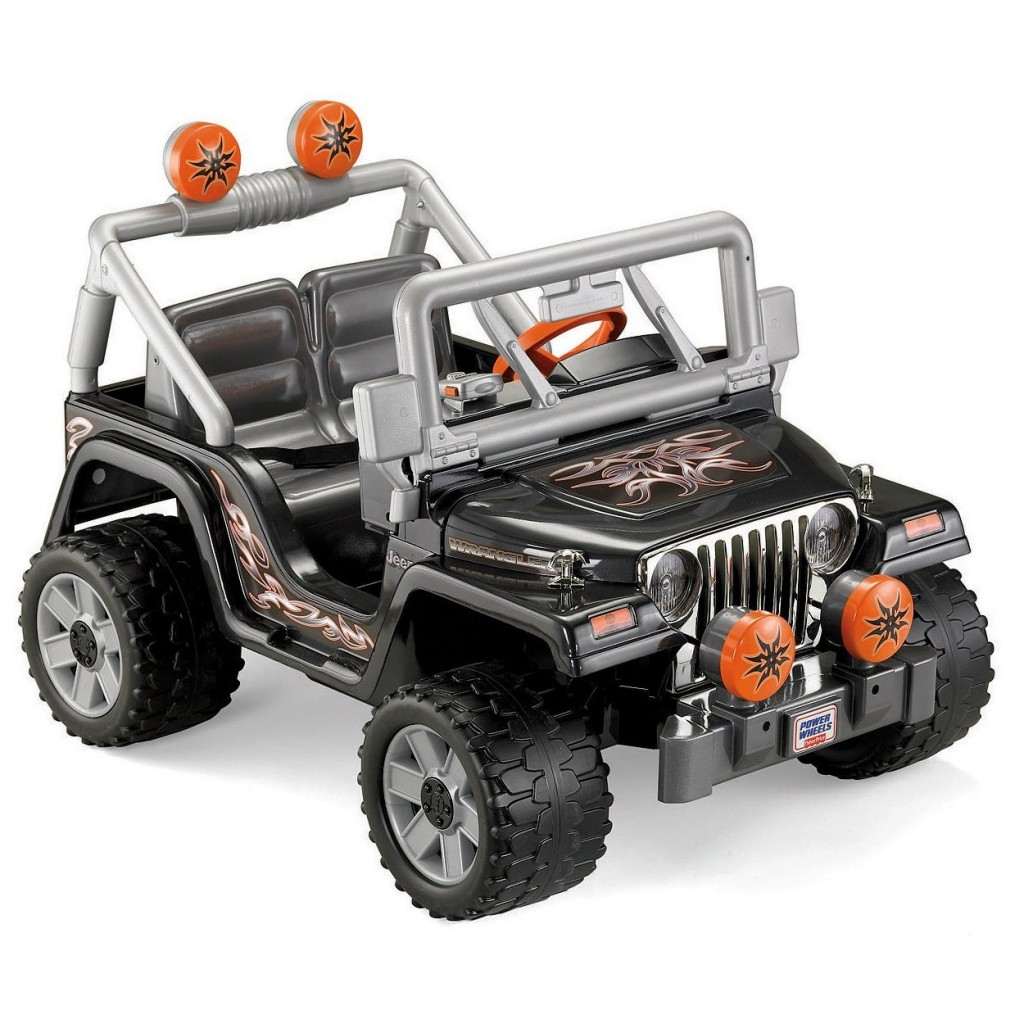 First Ride Power Wheels Tough Talking Jeep Wrangler The Dad