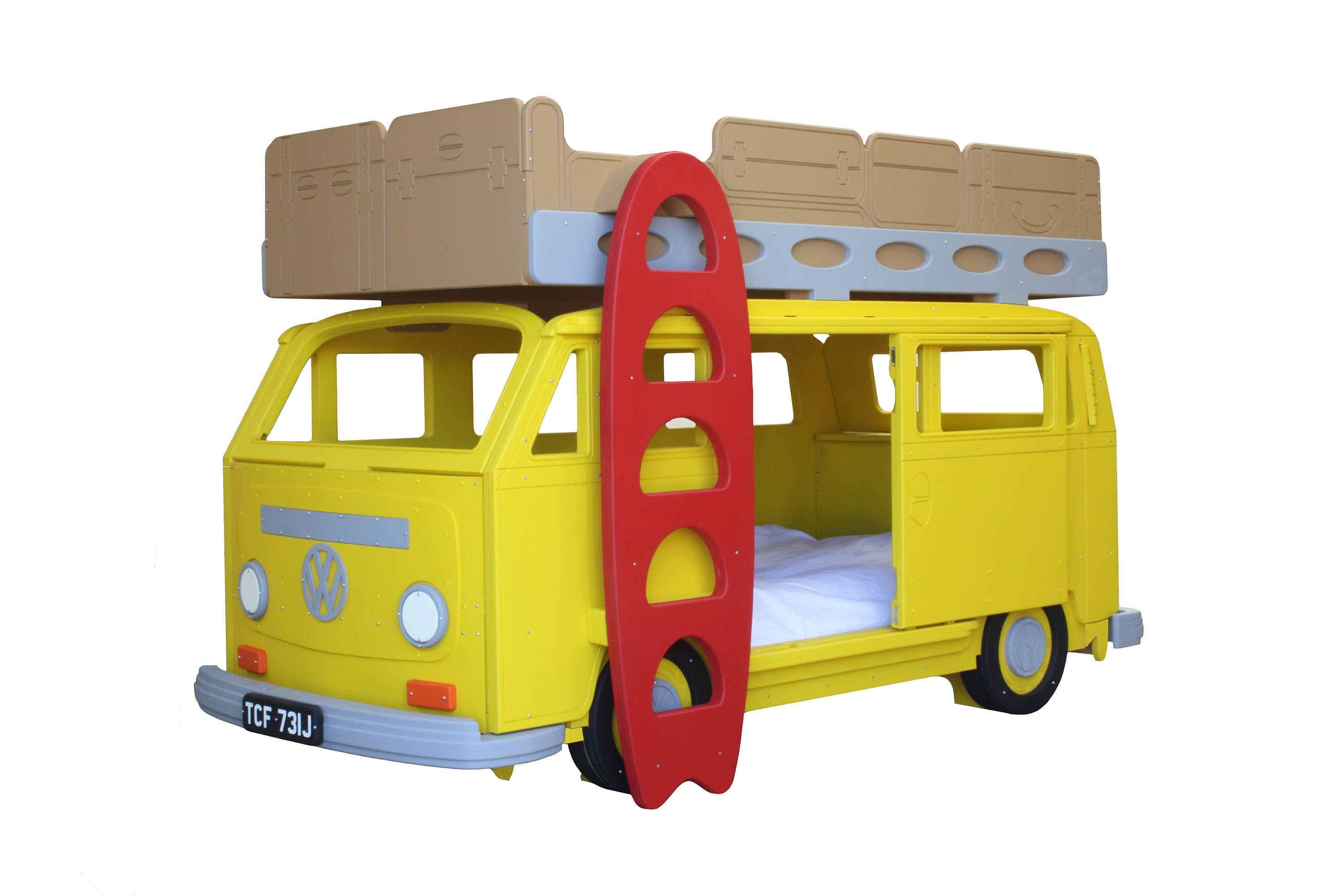 Picture of: Camper Van Bunk Bed By Fun Furniture Collection The Dad